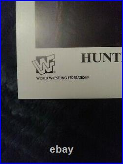 Hunter Hearst Helmsley &Chyna Dual Signed Rare WWF Promo Photo 1997 WWF DX P-407
