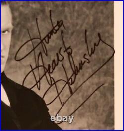 Hunter Hearst-Helmsley Signed WWF Original B/W 8x10 First Promo Photo P-292 BAS