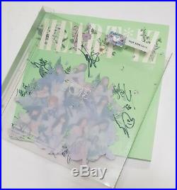 IZONE ALL MEMBER Autographed Signed PROMO ALBUM Pop up photo card Very Excellent