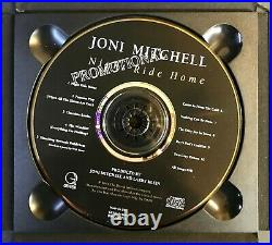 JONI MITCHELL Night Ride Home AUTOGRAPHED 1991 Promo CD withPhotos Signed RARE
