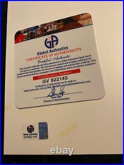 JUSTIN BIEBER CHANGES PURPOSE HAND SIGNED AUTOGRAPH 8x10 PROMO PHOTO GAI COA