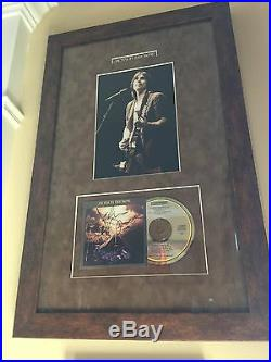 Jackson Browne Autographed / Signed Running On Empty CD & Tour Photo Framed