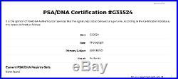 Jean Reno Hand Signed 11x14 Leon Promo Photo PSA DNA COA Autograph Godzilla