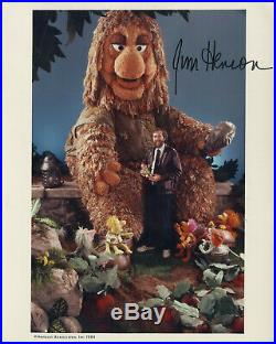 Jim Henson hand signed Fraggle Rock vintage promo 8x10 photo 1984 RARE