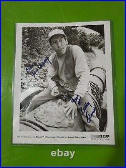 Jim Varney ERNEST Signed Autograph Auto 8x10 B & W Promo Photo FREE SHIPPING