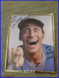 Jim Varney ERNEST Signed Autograph Auto 8x10 Promo Photo in Frame RARE FIND
