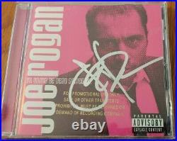 Joe Rogan Signed I'm Gonna Be Dead Someday Promo CD Megarare Newsradio Mma