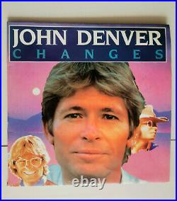 John Denver signed double vinyl album Changes with 2nd signed promo pic 30380