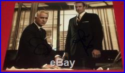 Jon Hamm & Jon Slattery Signed Mad Men Serious Promo 8x10 Photo Autograph Coa