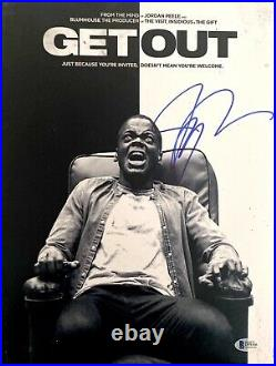 Jordan Peele Signed 11X14 Photo Get Out Promo Poster BAS D99366