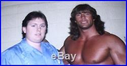 KERRY VON ERICH, Signed, Wrestling Promo Photo, NWA, World Belt, RARE, Autographed