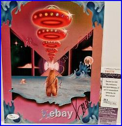KESHA aka KE$HA Signed Autograph 8x10 Promo Photo LP Cover Vinyl Record JSA