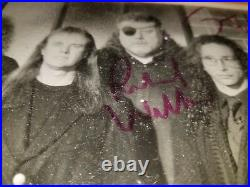 Kansashand Signed Vintage Promo Picture Signed By 4 Original Membersultra Rare