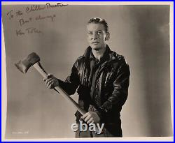 Kenneth Tobey / The Thing / Capt. Patrick Hendry / Original Signed Promo Photo