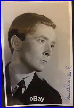 Kenneth Williams signed Rare Promo Photograph Carry On Films Stage Star