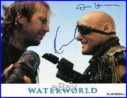 Kevin Costner & Dennis Hopper (+) WATERWORLD autographs, IP signed promo photo