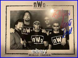 Kevin Nash & Scott Hall Signed NWO 8x10 Photo WWE WCW Picture Promo