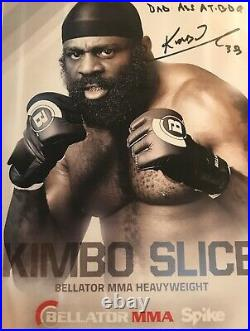 Kimbo Slice Signed Bellator MMA Promo photo