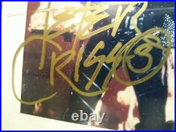 Kiss Autographed 8 X 10 Color Promo Picture From Mercury Records Original Band