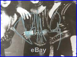 Kiss Creatures Of The Night Autographed Promo Photo