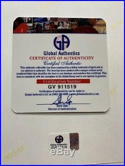 LADY GAGA SIGNED AUTOGRAPH BORN THIS WAY PHOTO 8x10 GAI COA AUTHENTICATED PROMO