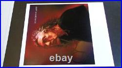 Led Zeppelin Autograph Robert Plant Signed Carry Fire Promo Photograph Oct 2018
