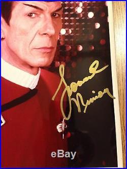 Leonard Nimoy Spock Original Autograph MINT Star Trek Promo pic #RIPNimoy #LLAP