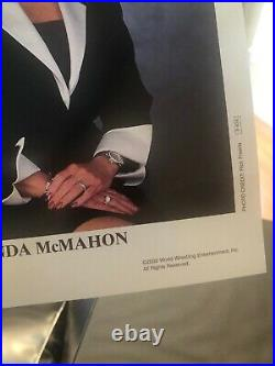 Linda Mcmahon Wwe Autographed 8x10 Promo Original Photograph Extremely Rare 2