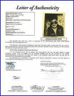 Little Richard hand SIGNED Vintage Young Promo Photo JSA LOA Full letter RARE #2