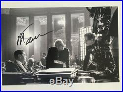 MARTIN SCORSESE Hand Signed Photo THE IRISHMAN Movie Promo