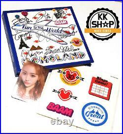 MOMOLAND Album Autograph MEMBER Signed PROMO KPOP Great +photo card + Sticker