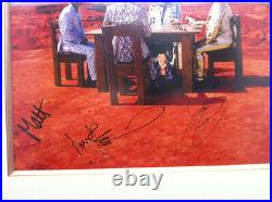 MUSE Autographed Signed Black Holes & Revelations Promo Picture Full Band