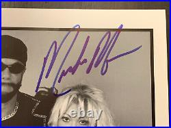 Macho Man Randy Savage & Gorgeous George Autographed WCW Promo Photo BECKETT COA