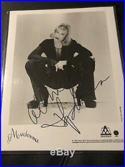 Madonna Erotica Girlie Show Era Signed Autographed Promo Press Photo