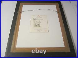 Madonna Super Rare Signed Autographed Framed Promo Photo Certified Loa Super Hot