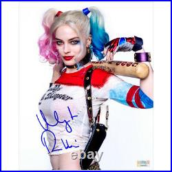 Margot Robbie Autographed Suicide Squad Harley Quinn 8×10 Promo Photo