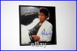 Michael Jackson Thriller director John Landis signed promo flat! RARE PROOF