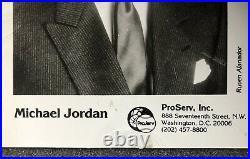 Michael Jordan Autograph, Rookie Promo 5x7 Rookie Auto, PSA COA, UDA, RARE