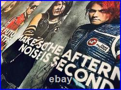 My Chemical Romance RARE SIGNED Danger Days Promo Photo Prints Set of 4