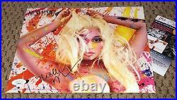 Nicki Minaj Signed 2012 Original Promo 8x10 Photo Jsa Autograph Pink Friday Rap