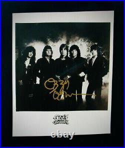 OZZY OSBOURNE Autographed 8x10 Promo PhotographBLACK SABBATHHeavy Metal