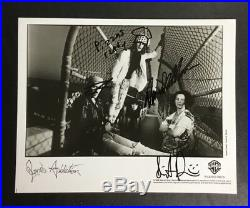 Original Rare Jane's Addiction 1989 Signed Autographed Promo Photograph 8x10