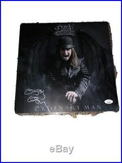 Ozzy Osbourne Signed Promo Flat Auto Jsa Certified