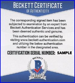 PIERCE BROSNAN SIGNED JAMES BOND 007 11x14 PROMO PHOTO with BECKETT s/n # & COA