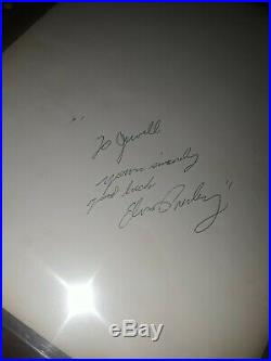 PSA COA Authentic Elvis Presley Signed Promo Headshot 1955 Autograph Rock N Roll