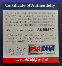 PSA/DNA Patrick Ewing Signed Autograph 8.5x11 NY Knicks The Wiz Promo Photo RARE
