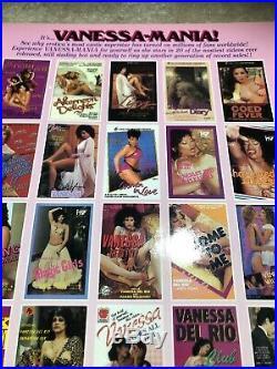 Porn Star Legend Vanessa Del Rio Lot Of 5 Signed Vintage Photos Promo 1990s
