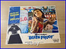 Quentin Tarantino Rosario Dawson signed Death Proof promo Vinyl RARE