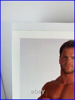 RARE Hand Signed Chris Benoit Vintage WWF 8x10 Promo Photo Autograph WCW ECW WWE