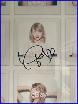 RARE Taylor Swift Hand Signed 1989 Tour Promo Picture